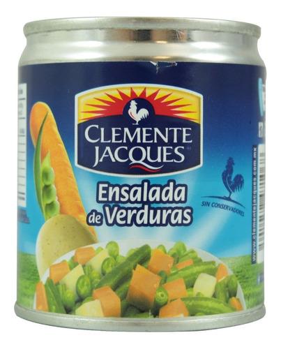 ensalada de verduras clemente jacques en lata 220 gr