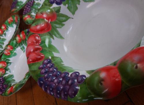 ensaladera/frutera+4platos hondos plastico-pompeya/v crespo