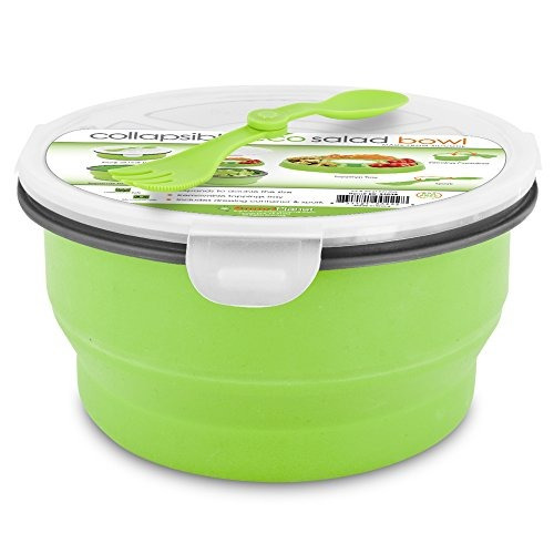 ensaladeras,ensaladera plegable smart planet eco, 64 oz,..