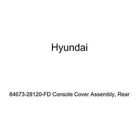 Front Genuine Hyundai 84659-33000-AU Console Cover Right