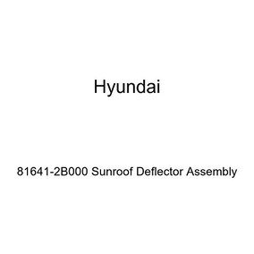 Genuine Hyundai 81641-2M000 Sunroof Deflector Assembly