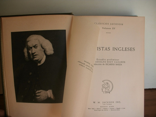 ensayistas ingleses - bacon - swift -  chesterton - otros
