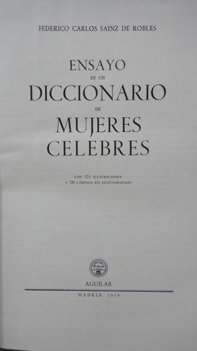 ensayo de un diccionario de mujeres célebres microcentro