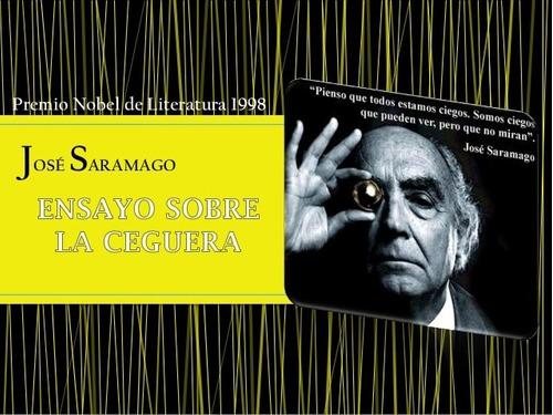 ensayo sobre la ceguera - josé saramago - ed. alfaguara