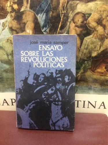 ensayo sobre las revoluciones políticas - josé maría samper.