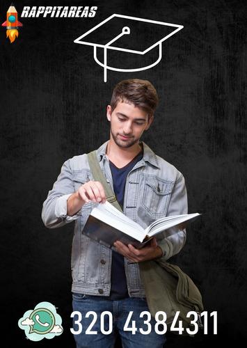 ensayo,artículos,reseñas,informes,tareas,tesis,talleres.
