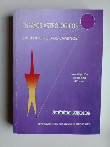 ensayos astrologicos abriendo nuevos caminos jerry brignone