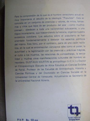 ensayos de antropología política - gustavo martín - tropykos