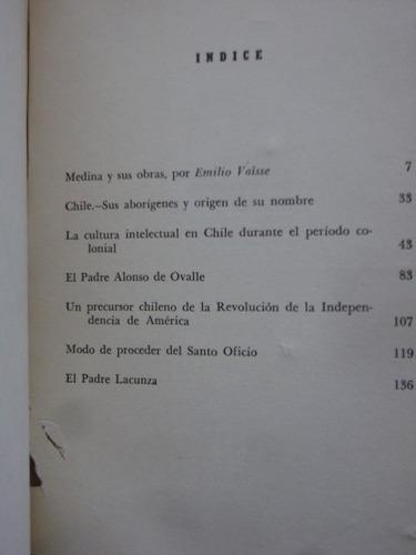 ensayos / josé toribio medina