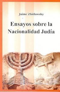 ensayos sobre la nacionalidad judía. zhitlowsky. saban