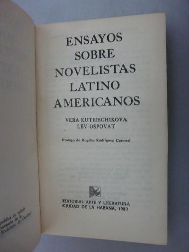 ensayos sobre novelistas latino americanos