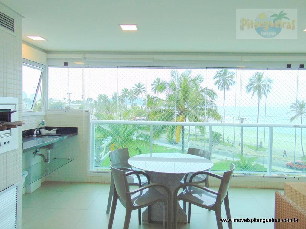 enseada - alto padrão - vista ao mar - finamente decorado - 02 vagas - prédio com lazer. - ap4429
