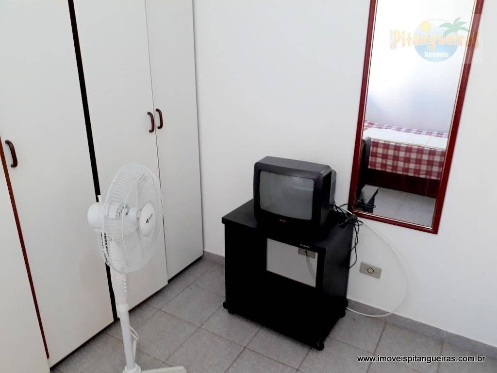 enseada - bem localizado - mobiliado - 01 vaga de garagem. - ap4360
