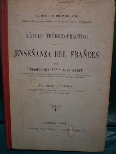 enseñanza del frances - curso primer año 1912 by thx77