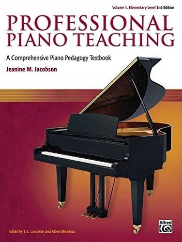 enseñanza profesional de piano vol 1 un completo libro de t