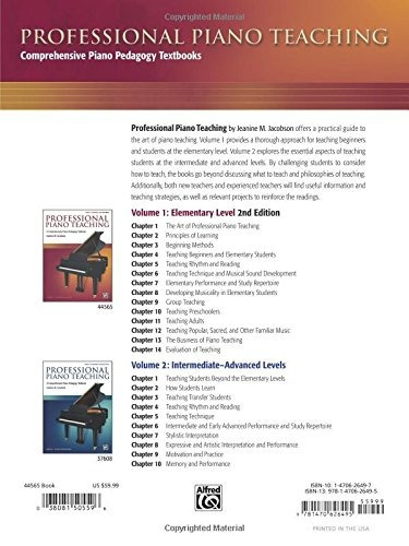 ensenanza profesional de piano vol 1 un completo libro de te