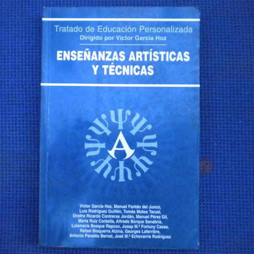 enseñanzas artisticas y tecnicas, tratado de educacion perso