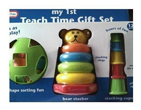 enseñar el tiempo conjunto de regalo con el clasificador de