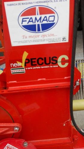ensiladora de maíz nogueira new pecus c cañera