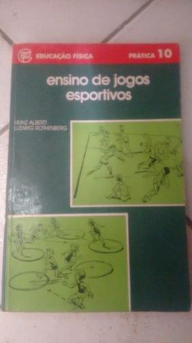 ensino de jogos esportivos educação física