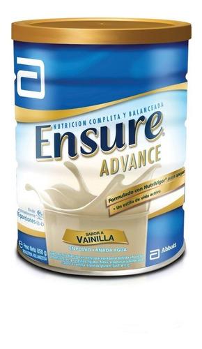ensure advance polvo vainilla x 850 g multivitaminico