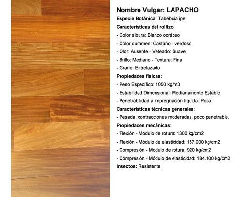 entablonado piso de madera maciza