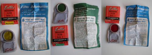 enteco series 5 antiguo 3 filtros y su adaptador con manual