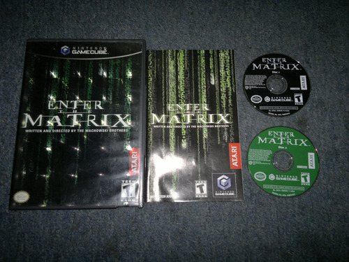 enter the matrix completo para nintendo game cube checalo