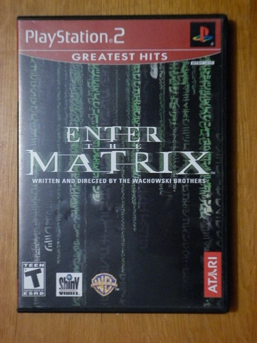 enter the matrix para el ps-2
