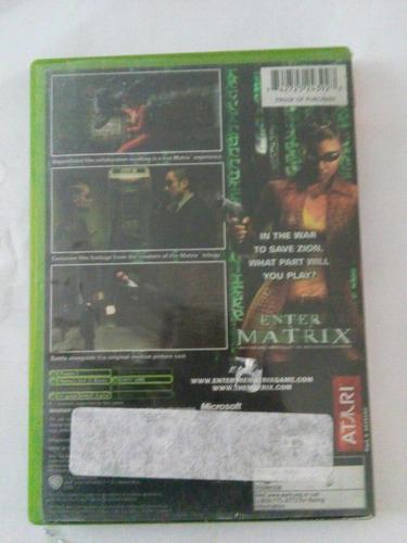 enter the matrix xbox original trqs neo