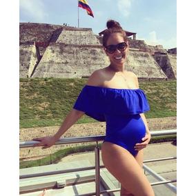 de20e606c Traje De Baño Embarazada Trajes Bano en Mercado Libre México