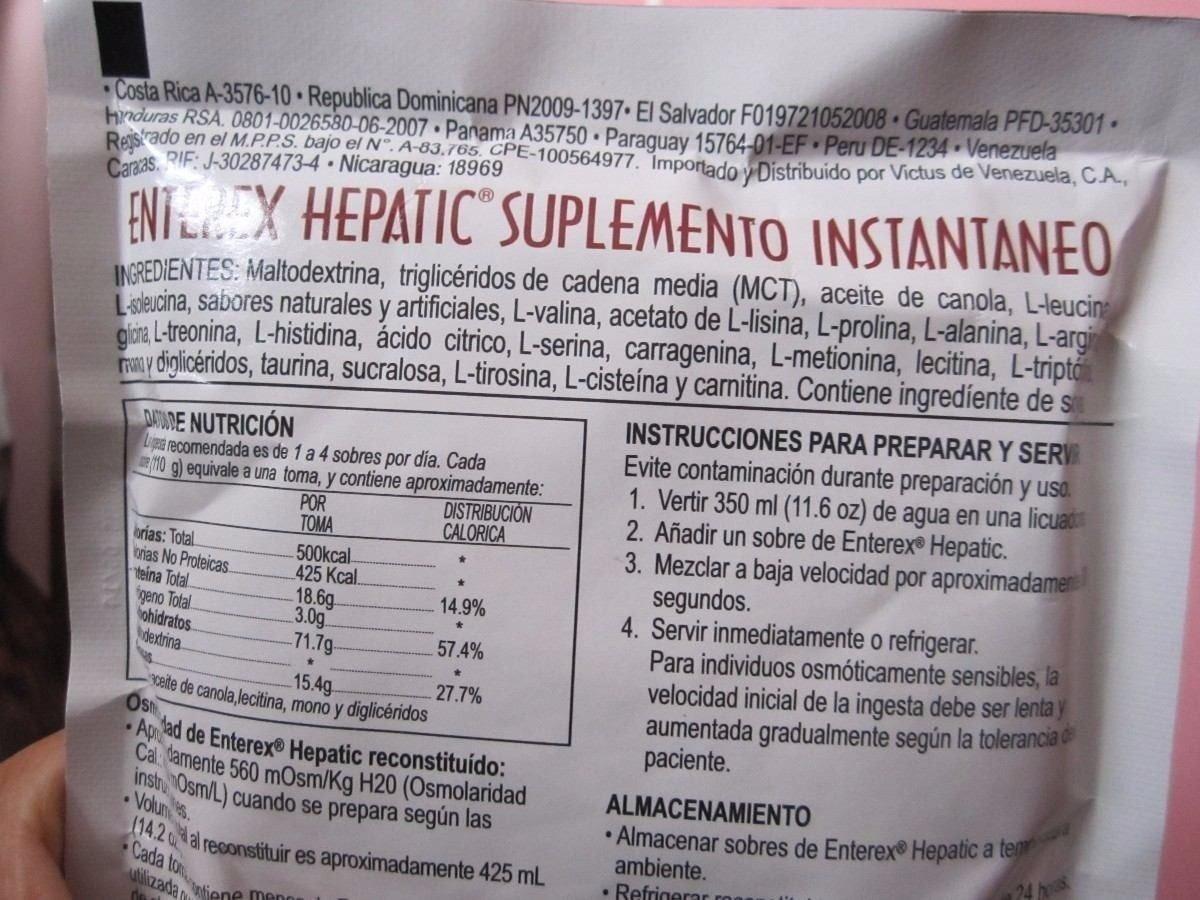 Enterex Hepatic - S/ 85,00 en Mercado Libre