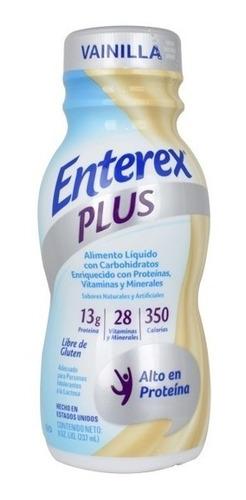 enterex plus vainilla x 237 ml