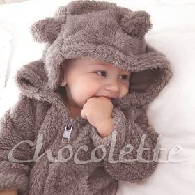 Enterito Oso Teddy Corderito Chocolette Bebes Envío Gratis