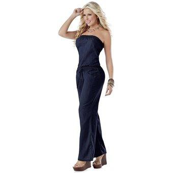 013ea2171694 Enterizo Adulto Para Mujer Marketing Personal 66617 Azul Osc