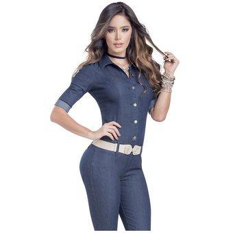 7096a11f0dbb Enterizo Adulto Para Mujer Marketing Personal 95374 Azul
