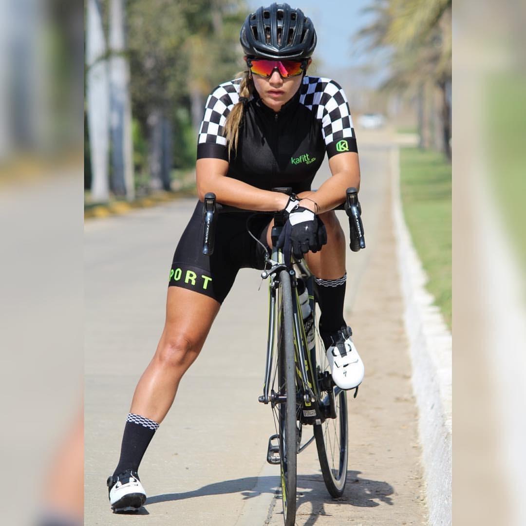 mejor precio para Calidad superior super especiales Enterizo Manga Corta Kafitt Mujer Dama Ciclismo Ruta Mtb