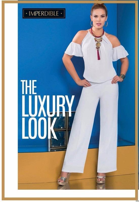 Vestidos enterizos elegantes blancos