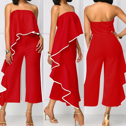 enterizo vestido pantalon jumpsuits  diseñosextrem2013