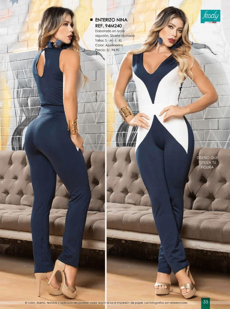 34bf4963a0 Enterizos Leggins Catalogo Fesdy Ropa De Moda Mujer - S  1