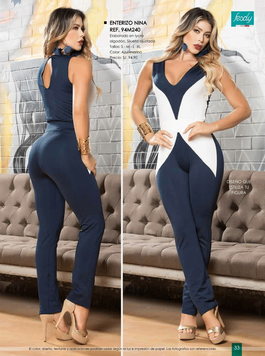 8236047be1c5 Enterizos Leggins Catalogo Fesdy Ropa De Moda Mujer