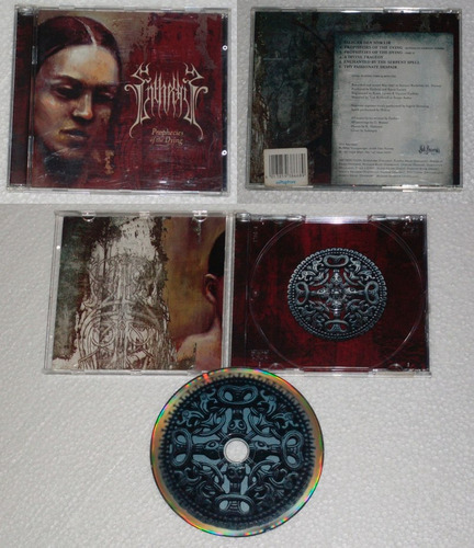 enthral   prophecies of the dying  cd