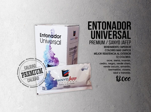 entonador universal pro 120cc promo envío gratis* + promo