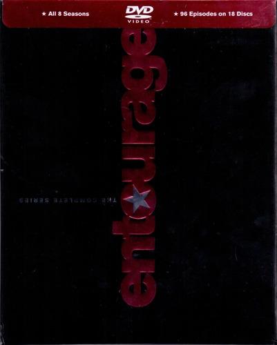 entourage juego de hollywood boxset temporadas 1 - 8 dvd