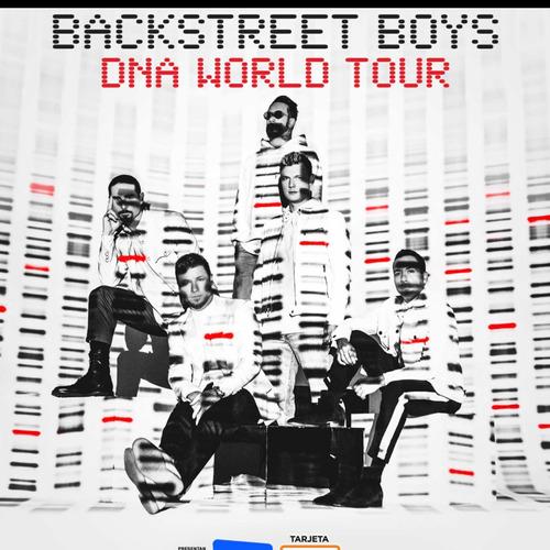 entrada cancha backstreet boys envío gratis
