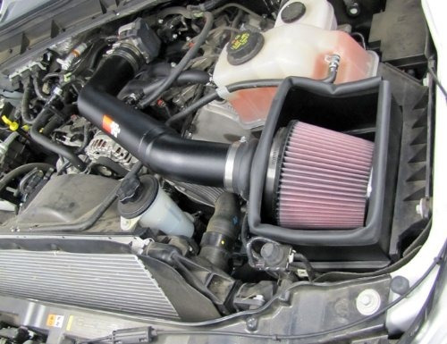 entrada de aire k&n ford f250 super duty 6.2l v8 f/i 2011-20
