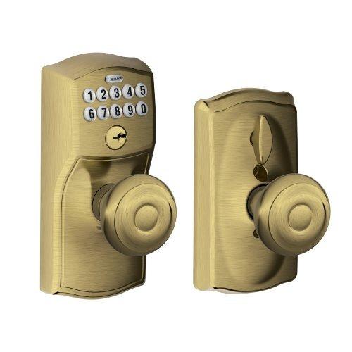entrada de teclado schlage fe595 cam 609 geo camelot con fl