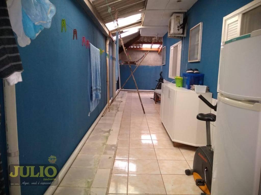 entrada direto com vendedor e saldo parcelado. village com 3 dormitórios à venda, 151 m² por r$ 220.000 - balneário itaguaí - mongaguá/sp - vl0037