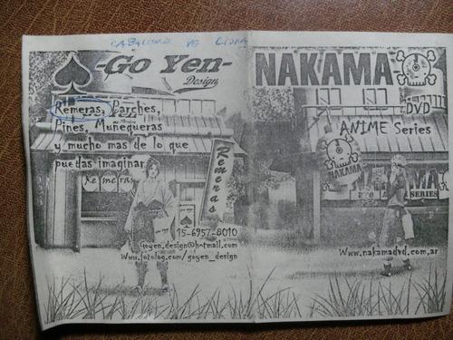 entrada feria fancomix comic anime manga costa salg 2003