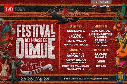 entrada festival de olmue 25 de enero